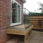 NOWRICH AND NORFOLK GLASS BALUSTRADING